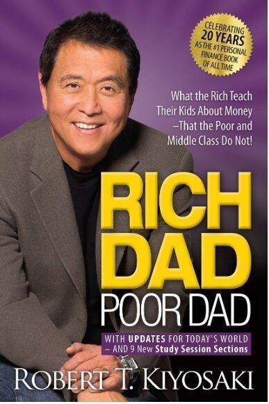 Rich dad poor dad book summary-cover