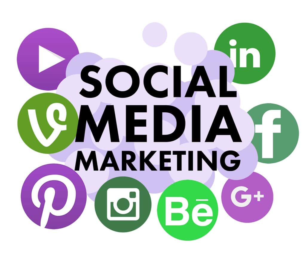 online works from home-social media marketing